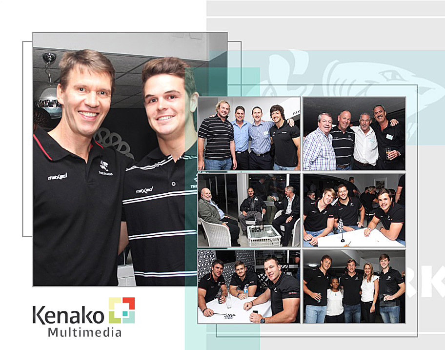 The Sharks - Sponsorship Launch Photos